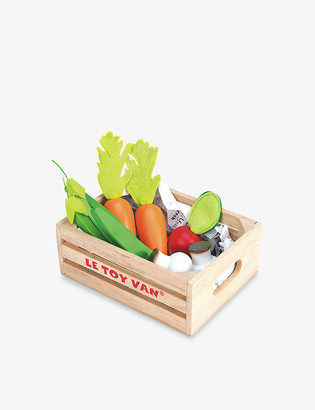 Le Toy Van Vegetables 'Five A Day' wooden toy set