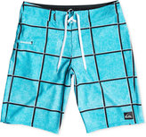 Quiksilver Men's Electric Stretch Windowpane Check Boardshorts