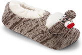 JCPenney MUK LUKS Sock Monkey Slippers