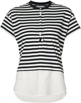 Derek Lam 10 Crosby striped T-shirt - women - Cotton - S