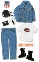 Harley-Davidson 3-D Stickers: Denim Clothing by Stickopotamus & Jolee's