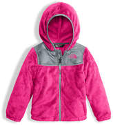 The North Face Girls' Oso Fleece Zip Hoodie, Pink, Size 2-4T