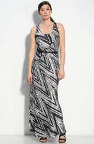 Belted Silk Maxi Dress