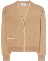 Prada Virgin Wool And Silk-blend Cardigan