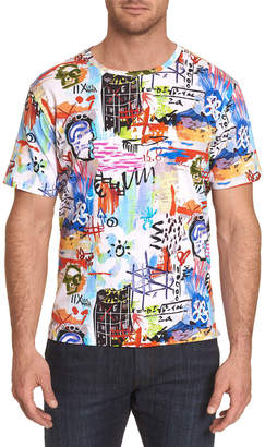 Robert Graham Men's Graffiti Art Graphic T-Shirt