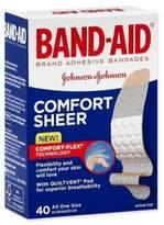 Johnson & Johnson Band-Aid® 40-Count Sheer Strip Bandages