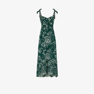 Reformation Nikita floral print midi dress