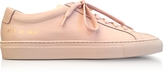 Common Projects Nude Leather Achilles Original Low Top Women's Sneakers
