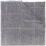 Brunello Cucinelli cashmere checked scarf