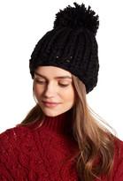 Collection XIIX Oversized Pompom Knit Beanie
