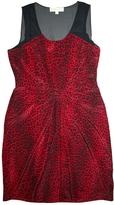MICHAEL Michael Kors Red Silk Dress