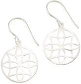 Mela Artisans Filigree in Silver Earrings