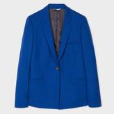 Paul Smith Women's Blue Merino Wool Blazer
