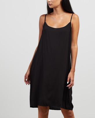 Morrison - Women's Black Slip Dresses - Oden Slip Dress - Size 1 at The Iconic