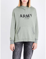 Sundry Army of Lovers cotton-blend hoody