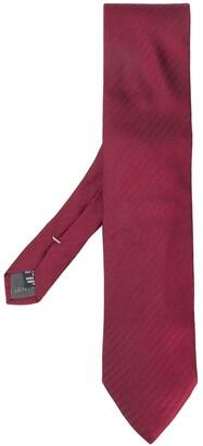 Giorgio Armani Pre Owned Embroidered Tie