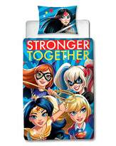 Marvel DC Superhero Girls Super Panel Duvet