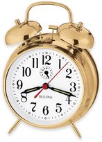 Bulova Bellman II Table Clock in Brass