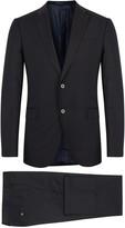 Armani Collezioni Navy Wool Suit