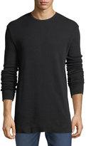 Hudson Waffle-Knit Thermal Shirt