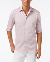 Tasso Elba Men's Classic-Fit Pinstriped Shirt, Only at Macy's