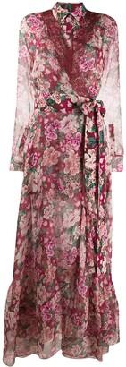 Faith Connexion floral print shirt dress