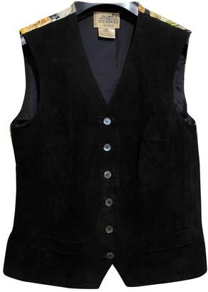 Hermes Black Silk Top for Women Vintage