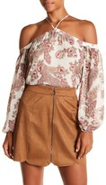 WAYF Liberty Off-the-Shoulder Blouse