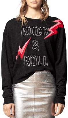 Zadig & Voltaire Rock & Roll Merino Wool Sweater