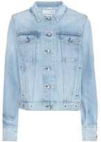 Rag & Bone Avenida Eyelet denim jacket