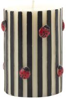 Mackenzie Childs Ladybug Pillar Candle