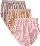 Bali Women's Comfort Revolution Brief Panty (3-Pack)