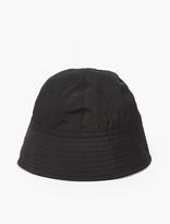 Rick Owens Black Nylon Bucket Hat