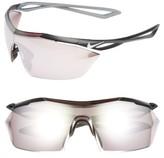 Nike Vaporwing Elite 90Mm Running Sunglasses - Black/ White