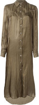 MM6 MAISON MARGIELA long shirt dress - women - Polyester - 42