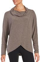 Calvin Klein Knit Cowlneck Top