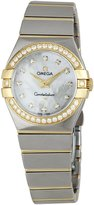 Omega Women's 123.25.27.60.55.003 Dial Constellation Mother-Of-Pearl Dial Watch