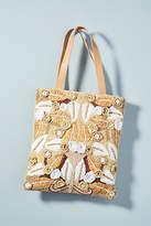 Antik Batik Lila Tropics Tote Bag