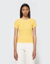 Cloe Knit Top in Mustard