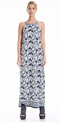 Max Studio Women's Printed Sleeveless Maxi Dress