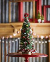 Mackenzie Childs MacKenzie-Childs Highland Nostalgia Small Tabletop Christmas Tree