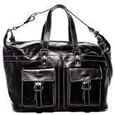 Persaman New York Scott Italian Leather Weekend Bag