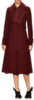 Proenza Schouler Wool Double Breasted A Line Coat