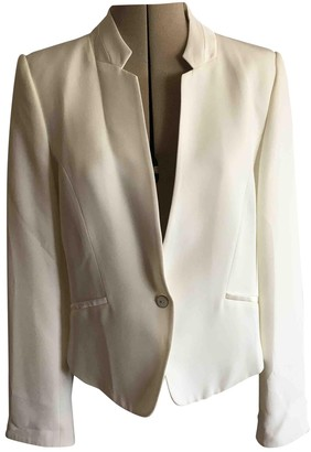 One Step White Jacket for Women
