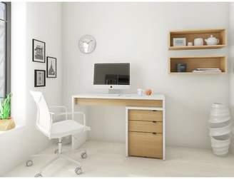 Ebern Designs Home Office Desk and Filing Cabinet Set Ebern Designs