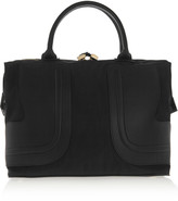 See by Chloe Kay large faux leather-paneled shell tote