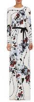Erdem Women's Agnes Floral Silk Gown