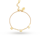 Disney Gold Plated Mickey Mouse Bracelet