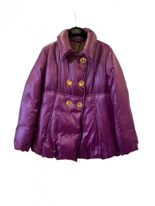 Carolina Herrera Purple Synthetic Coats