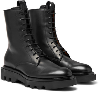 Givenchy Cruz Trek Leather Boots
